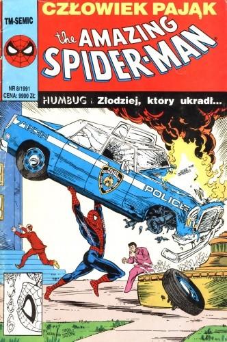 Okładka książki The Amazing Spider-Man 8/1991