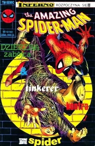 Okładka książki The Amazing Spider-Man 10/1991