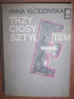 Okładka książki Trzy ciosy sztyletem