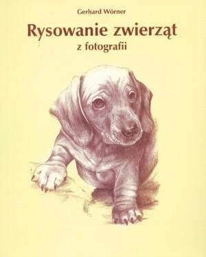 Okładka książki Rysowanie zwierząt z fotografii