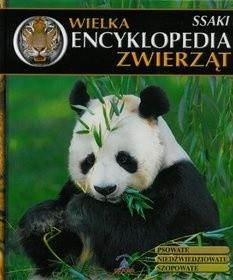 Okładka książki Wielka Encyklopedia Zwierząt. Ssaki. Tom 4