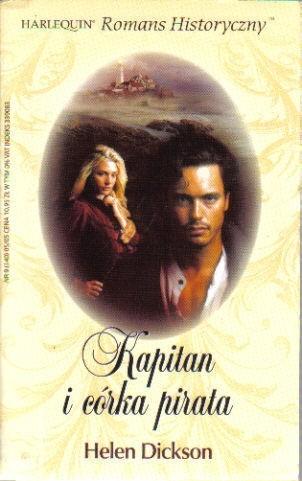 Okładka książki Kapitan i córka pirata