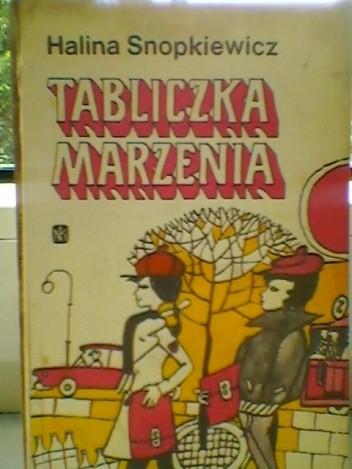 Okładka książki Tabliczka marzenia