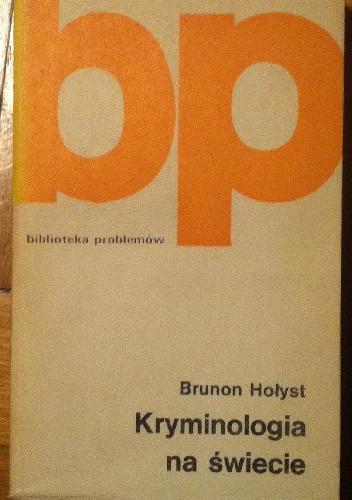 Okładka książki Kryminologia na świecie