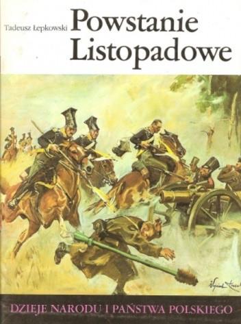 Okładka książki Powstanie Listopadowe