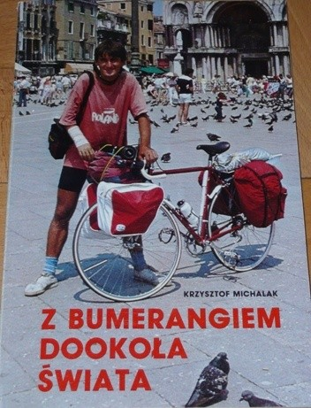 Okładka książki Z bumerangiem dookoła świata