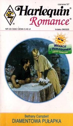 Okładka książki Diamentowa pułapka