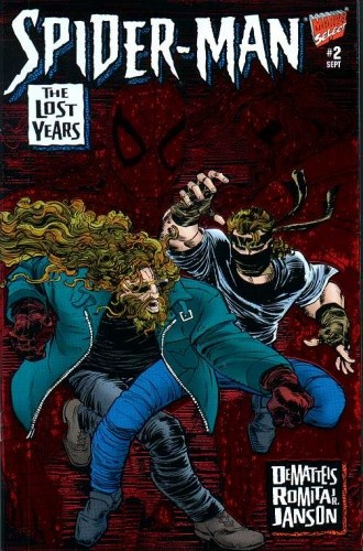 Okładka książki Spider-Man: The Lost Years #002 - Intimacies