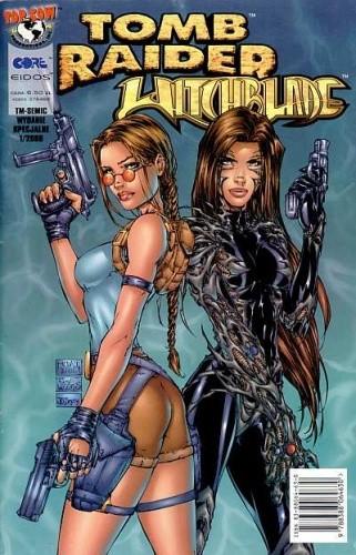 Okładka książki Tomb Raider. Witchblade