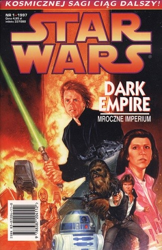 Okładka książki Star Wars: Mroczne Imperium 1/1997