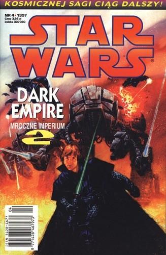 Okładka książki Star Wars: Mroczne Imperium 4/1997