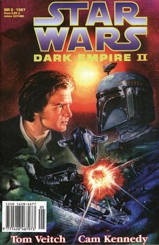 Okładka książki Star Wars: Mroczne Imperium 5/1997