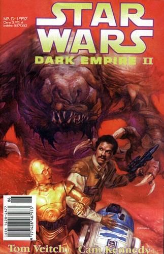 Okładka książki Star Wars: Mroczne Imperium 6/1997