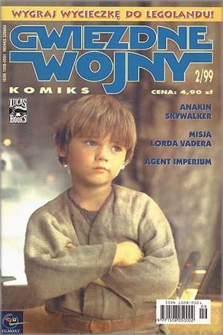 Okładka książki Gwiezdne Wojny Komiks 2/1999