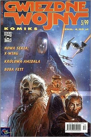 Okładka książki Gwiezdne Wojny Komiks 5/1999