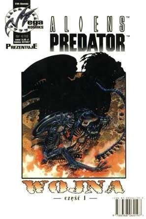Okładka książki Aliens vs Predator: Wojna część 1