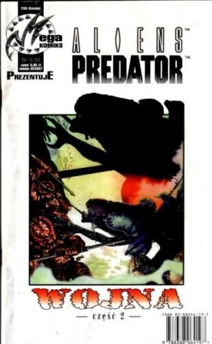 Okładka książki Aliens vs Predator: Wojna część 2