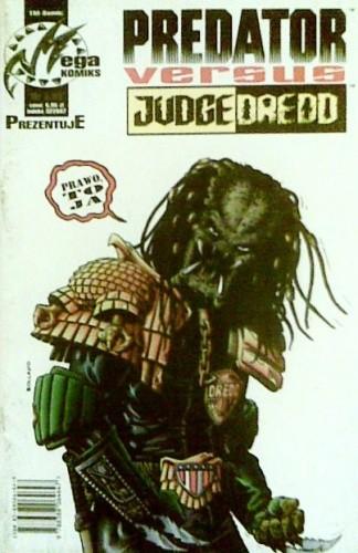 Okładka książki Predator versus Judge Dredd