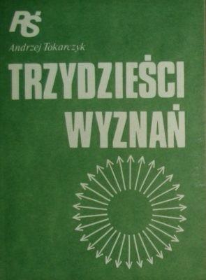 Okładka książki Trzydzieści Wyznań