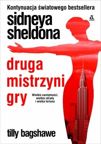 Okładka książki Sidneya Sheldona druga mistrzyni gry