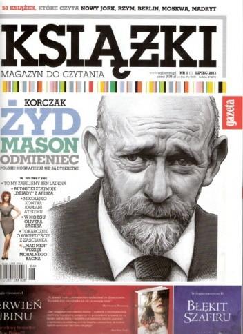 Okładka książki Książki. Magazyn do czytania, nr 1 / lipiec 2011