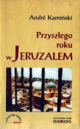 Okładka książki Przyszłego roku w Jeruzalem