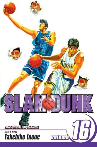 Okładka książki Slam Dunk vol. 16