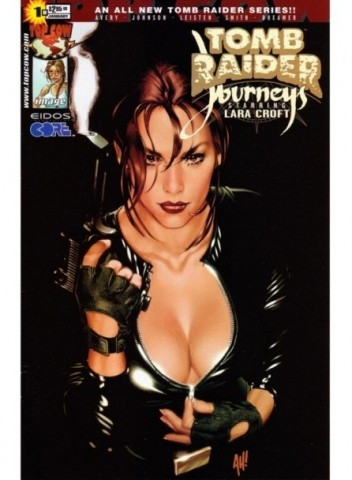 Okładka książki Tomb Raider: Journeys #1