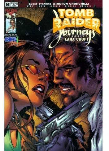 Okładka książki Tomb Raider: Journeys #6