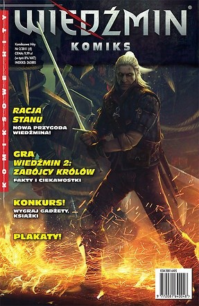Okładka książki Wiedźmin - Racja stanu cz. 1