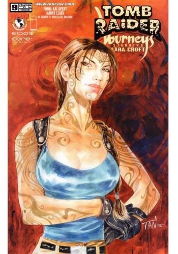 Okładka książki Tomb Raider: Journeys #9