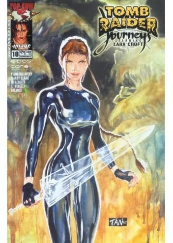 Okładka książki Tomb Raider: Journeys #10
