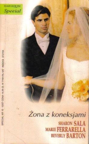 Okładka książki Żona z koneksjami