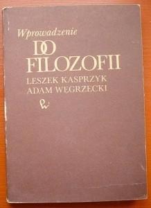 Okładka książki Wprowadzenie do filozofii