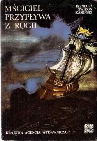 Okładka książki Mściciel przypływa z Rugii