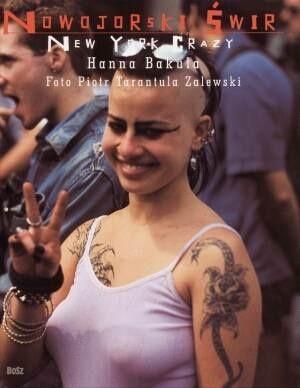 Okładka książki Nowojorski świr. New York Crazy
