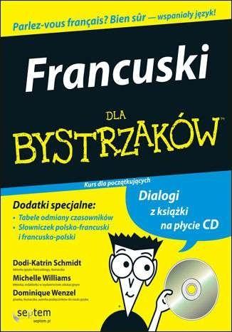 Okładka książki Francuski dla bystrzaków. Kurs dla początkujących