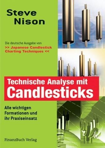 Okładka książki Technische Analyse mit Candlesticks Alle wichtigen Formationen und ihr Praxiseinsatz