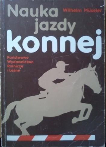Okładka książki Nauka jazdy konnej