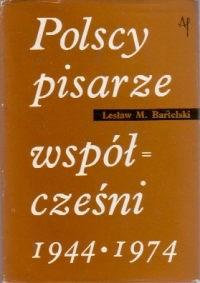 Okładka książki Polscy pisarze współcześni 1944-1974