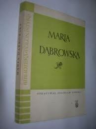 Okładka książki Maria Dąbrowska