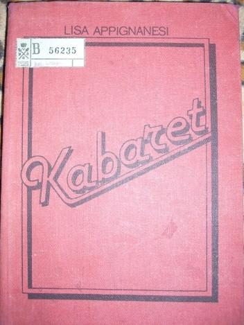Okładka książki Kabaret