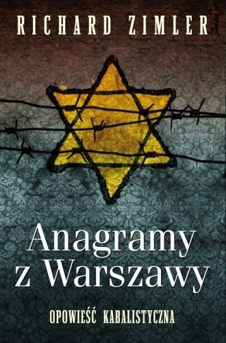 Okładka książki Anagramy z Warszawy