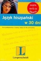 Okładka książki Język hiszpański w 30 dni