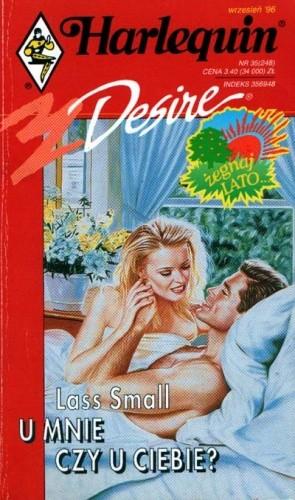 Okładka książki U mnie czy u ciebie?