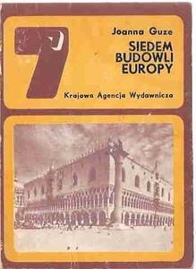Okładka książki Siedem budowli Europy