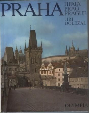 Okładka książki Praha