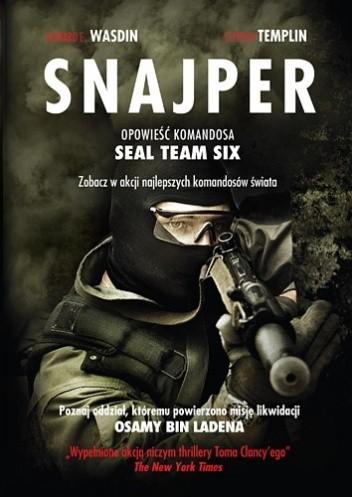 Okładka książki Snajper. Opowieść komandosa SEAL Team Six