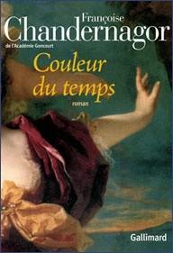 Okładka książki Couleur du temps
