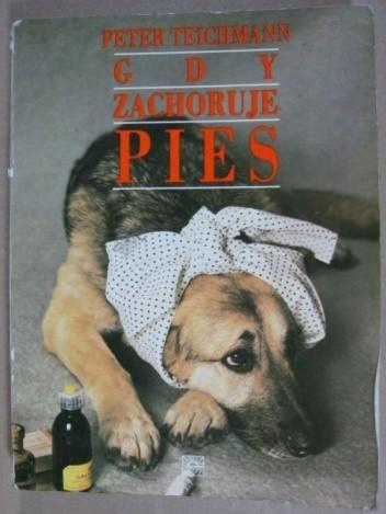 Okładka książki Gdy zachoruje pies